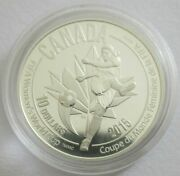Canada 10 Dollars 2015 Football Womenand039s World Cup Shot 1/2 Oz Silver