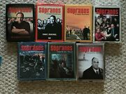 Hbo The Sopranos Complete Series 1 2 3 4 5 6 Parts 1 And 2 Excellent Dvds