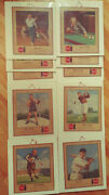 Ty Cobb 1947 Complete Set 10 Coca Cola All Time Sports Favorite Cardboard Signs