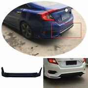 Fit For Honda Civic 2016-2020 Abs Unpainted Rear Skid Plate Bumper Board Guard