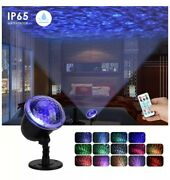 Rave/party Light Ocean Wave Light With Ripple Rgb 3d Water Effect Rechargeable