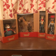 Toy Story Roundup Young Epoch Vintage Figure Very Rare Lot 4 Set Disny Resort