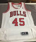 Michael Jordan Chicago Bulls Authentic Rev 30 Jersey. Sold Out. Discontinued.