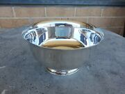 Paul Revere Reproduction 1227c Sterling Silver Footed Bowl 7 13 Troy Oz