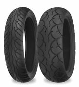 Shinko Sr567/sr568 Front And Rear Tires 120/80s-14 And 140/60s-14 87-4284/87-4505