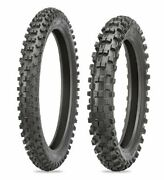 Shinko F546/r546 Soft/intermediate Mc Front And Rear Tires 70/100-17 And 90/100-14
