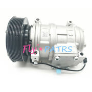 Re69716 Ac Compressor For John Deere Tractor 7600 7700 7800 7210 Denso 10pa17c