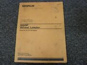 Caterpillar Cat 950f Articulated Wheel Loader W/3116 Engine Parts Catalog Manual