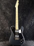 Fender Made In Japan Hybrid Telecaster Deluxe -charcoal Frost Metallic New Color