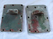 Montgomery Ward 12hp Sea King 84gg9017a Boat Motor Outboard Pair Exhaust Cover