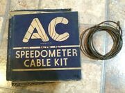 - Nos 1937-1952 Chevrolet Speedometer Cable 4.342 846890 Ac 615 - 80 Long