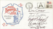 Space Shuttle Challenger - Sts - 41c Crew - Commemorative Envelope Signed