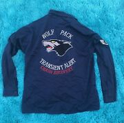 Usaf Air Force Transient Alert Crash Recovery Wolf Pack Shirt Pacific Air Forces