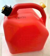 Scepter 20 Liter 5.3 Gallon Fuel Can Red 063923076224 28-3052