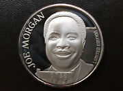 1990 Joe Morgan Hall Of Fame Limited Edition Silver Medal A1866