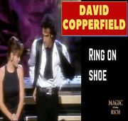 David Copperfield Ring On Baby Shoe Lace Aka Ring Flight Trick Magic Watch Demo