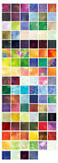 Benartex Fossil Fern Charm Pack 100 5 Quilt Fabric Squares