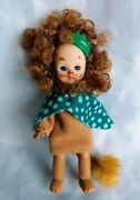 Madame Alexander Doll Mcdonald's Wizard Of Oz Cowardly Lion Green Crown/cape