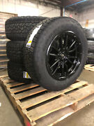 20x9 D679 Fuel Rebel Wheels 33 Goodyear At Tires 6x5.5 Chevy Suburban Tahoe