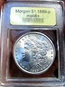 1889 P Unc Morgan Silver Dollar Very Rare Tied For 8th Finest Found Spectacular