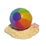 Wee Forest Folk Beach Ball, Wff A-41, Mouse Accessory