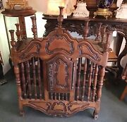 Antique French Provincial Bread Cupboard Panetiere 18th Century