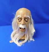 Creepy Old Man Mask Hdm366 2006 The Horror Dome With Tags