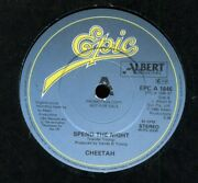 Cheetah  Spend The Night   Epic 'a' Label Demo Pic Sleeve