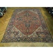 8x11 Authentic Hand Knotted Antique Rug Pix-23992