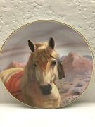 Perillo Limited Edition 3500 Worldwide Plates Horses Set Of Two Decorative Colle
