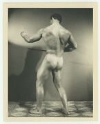 Keith Stephan Beefcake Photo 1950 Bruce Of La Nude Male Gay Physique Hunk Q7632