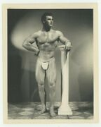 Keith Stephan Beefcake Photo 1950 Bruce Of La Nude Male Gay Physique Hunk Q7631