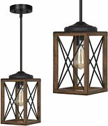 Dewenwils Farmhouse Pendant Light Kitchen Island Metal Hanging Light Fixtures