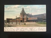 2 Antique Railroad Station Depot Postcards Nyc And Hr Rochester Ny And Wellesley Ma