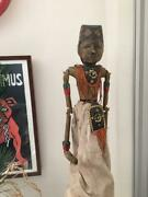 Indonesian Antique Traditional Performing Arts Puppets
