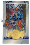 Dc Marvel Metal 1995 Inauguaral Edition Trading Card Hobby Box