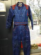 Go Kart Racing Suit Used Sparco Euro Size 140 Youth Suit