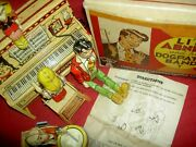 Li'l Abner Dogpatch Band, Unique Art Mfg. Co. Boxed Working Tin Wind-up Toy