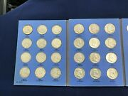1948-1963 Pds Franklin Silver Half Dollar Collection Of 35 Different Coins E7268