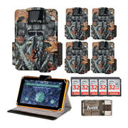Browning Trail Cameras Strike Force Pro Xd Dual Lens 24mp Game Cam Large Bundle