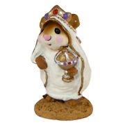 Wee Forest Folk Wise Man In Robe, Wff M-121b, Nativity Mouse