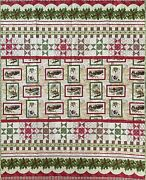 Quilts Hand Made 59andrdquo X 41andrdquo Christmas