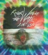 2012 Roger Waters The Wall Concert Tour Lg Tie-dye T-shirt Pink Floyd