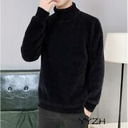 Autumn Men Pullover High Neck Regular Sweaters Jumper Pullover Casual Tops Coat