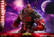 Hot Toys Venompool 16 Scale Figure Marvel Contest Of Champions Vgm35 Sideshow