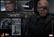 Dhl 1/6 Hot Toys Mms315 Captain America The Winter Soldier Nick Fury Figure