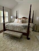 Ethan Allen Solid Cherry-british Classic Collection Excellent Condition