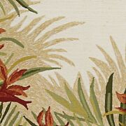 Couristan Covington Tropic Gardens Sand Multi Indoor/outdoor Rug 8and039x11and039