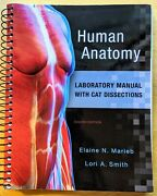 Human Anatomy Laboratory Manual With Cat Dissections By Susan J. Mitchell...