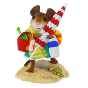 Wee Forest Folk Here Comes The Fun, Wff M-488, Beach Mouse